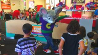 Chuck E's Happy Dance - Jovan's Performance