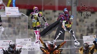 S.H.Figuarts FANTASY GAMER & TOKI MEKI CRISIS GAMER / 仮面ライダーブレイブ レベル50 & ポッピー display