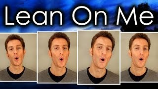Lean On Me (Bill Withers) - Barbershop quartet - Julien Neel