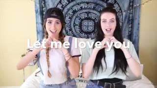 Cimorelli - Cold Water / Let Me Love You by Justin Bieber (lyrics)