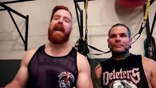 WWE-jeff Hardy & Shamus