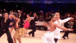 Cristian Priori - Eleonora Riccardi - Disney 2015 - WDC World Amateur Latin - Samba