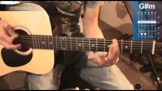"""Cómo tocar """"Fuiste Tú"""" de Ricardo Arjona en Guitarra (HD) Tutorial - Christianvib"""
