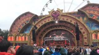 Kryder & Tom Staar Playing new ID by Victor Porfidio & Mark Martins at Tomorrowland 2015