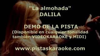 "Dalila   ""La almohada""DEMO PISTA KARAOKE CUMBIA"
