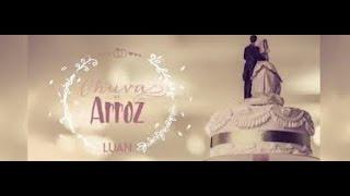 Saída dos Noivos com a música Chuva de Arroz  Luan Santana Instrumental