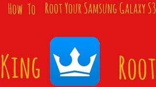 How To Root Your Samsung Galaxy S3 Without Computer. ( SPH-L710)