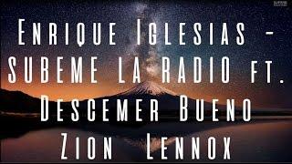 Enrique Iglesias - SUBEME LA RADIO (LETRA) HD