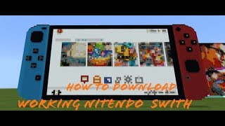 How to download working Nintendo switch mod in minecraft(link in the description) join clan on coc