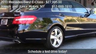 2010 Mercedes-Benz E-Class 4dr Sdn E350 Sport 4MATIC - for s