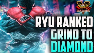 SF5 AE*: Ryu Ranked :Grind To Diamond: |Operation Get these Points|