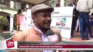 50 PROFESORES AFRO PUEDEN PERDER SU TRABAJO POR NUEVA NORMATIVIDAD DOCENTES DE TUMACO EN CRISIS