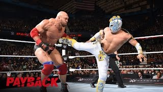 Kalisto vs. Ryback - US Title Match: WWE Payback 2016 Kickoff Match on WWE Network width=