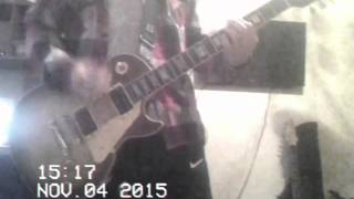 FUZZxROMIK-Loose Sutures(gibson les paul classic cover)