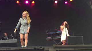 "Sabrina Carpenter Singing ""Two Young Hearts"" Live"