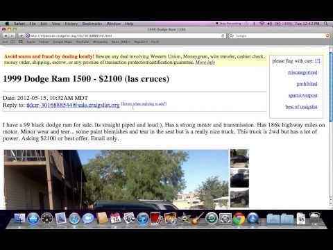Free el paso craigslist El Paso