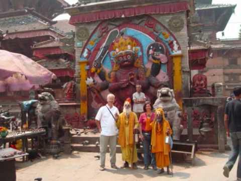 Plaza Durbar  Kathmandu  Nepal