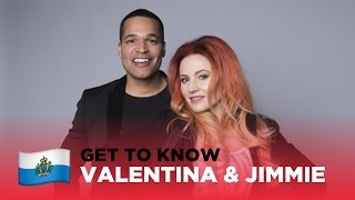 ESC 2017: Get to know... VALENTINA MONETTA & JIMMIE WILSON from SAN MARINO 🇸🇲