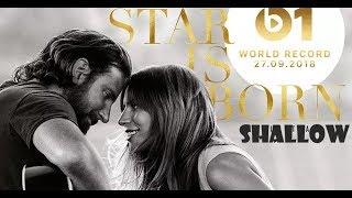 Lady Gaga & Bradley Cooper - Shallow (a star is born) (Lyrics 0,75 speed)
