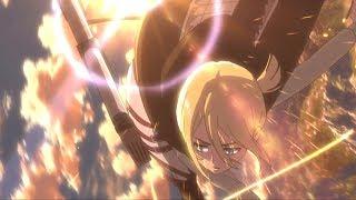 Historia and Ymir are on fire! EPIC SCENE - Attack on Titan 2