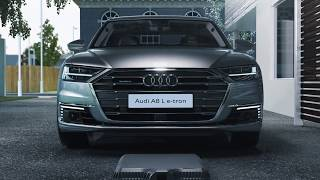 Audi A8 L e-tron - Wireless charging | AutoMotoTV
