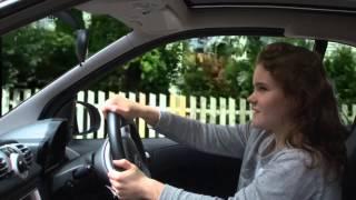 Car crash movie using green screen