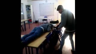 Apanhados na sala de aula