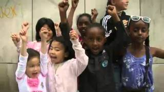 """Swedish state multicultural propaganda - Children's TV - """"My country is also yours"""""""