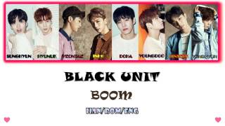 Black Unit - Boom LYRIC CC