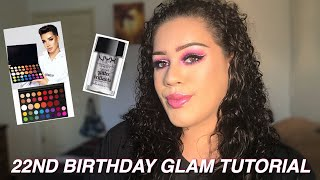22ND BIRTHDAY GLAM TUTORIAL