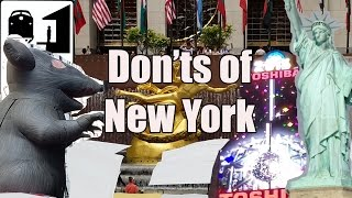 Visit New York - The Don'ts of New York City width=