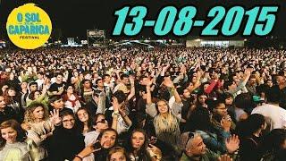 Festival Sol Da Caparica 2015 - O Primeiro Dia com Richie Campbell, Camané e UHF (13/08/2015)
