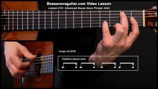 Desafinado (Off Key) - Bossa Nova Guitar Lesson #12: Advanced Phrase 4444