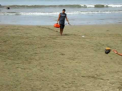 Beach in Nicaragua.AVI