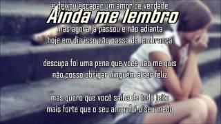 ErickSL Ainda me lembro (Letra)