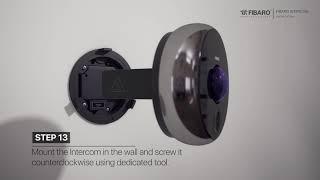 INTERCOM smart doorbell camera installation video