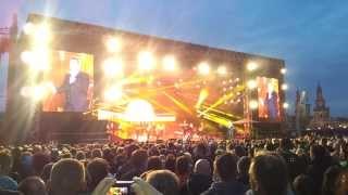 Kaisermania 09.08.2013 MANCHMAL MÖCHTE ICH SCHON MIT DIR Roland Kaiser Dresden