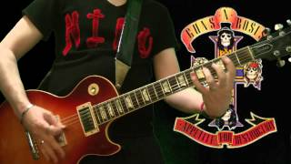 Guns N' Roses - My Michelle (full guitar cover)