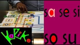 Tutorial: Aprendiendo la sílabas sa se si so su  ( Ejercicio 7)  CUU MX