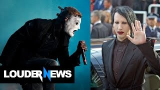 Corey Taylor on Marilyn Manson: He was so cutting edge and rough - Louder Noise