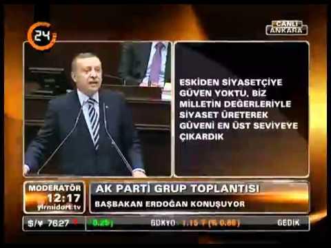 Başbakan Erdoğan. TBMM Grup Toplantısı Konuşması. [31 Ocak 2012]