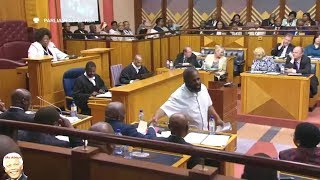 Willie Madisha Entertains Parliament Again width=