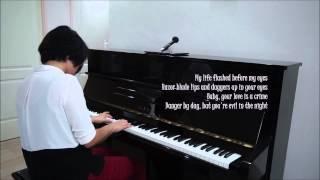 "Adam Lambert ""Evil in the Night"" Piano Cover"