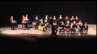 Hartselle High School Jazz Band, Carry on My Wayward Son cover 2015