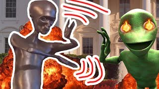Howard the Alien killed Dame Tu Cosita/ Metal dancing alien