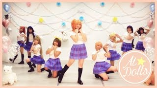 【School Ai★Dolls Project】 Love Live - Happy Maker (Dance Cover) -「ラブライブ!」【踊ってみた】