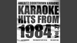 The Never Ending Story (In the Style of Limahl) (Unendliche Geschichte) (Karaoke Version)