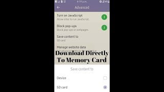 """Tizen: How to Download directly to """"Memory card"""" in Samsung Z2/Z3/Z1"""