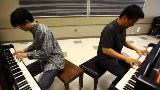 Super Piano Brothers (Tiedan Oskar Yao and Wesley Chu) - Bomb-omb Battlefield