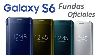 Fundas Galaxy S6 y S6 Edge: Características, Colores y Precios (Español)